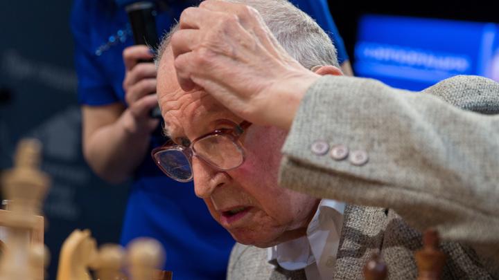 Старейший гроссмейстер мира госпитализирован с коронавирусом