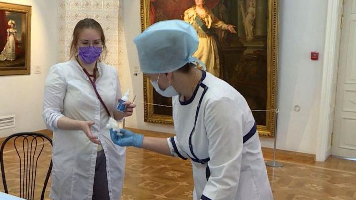 В Архангельске музейные сотрудники привились на рабочем месте