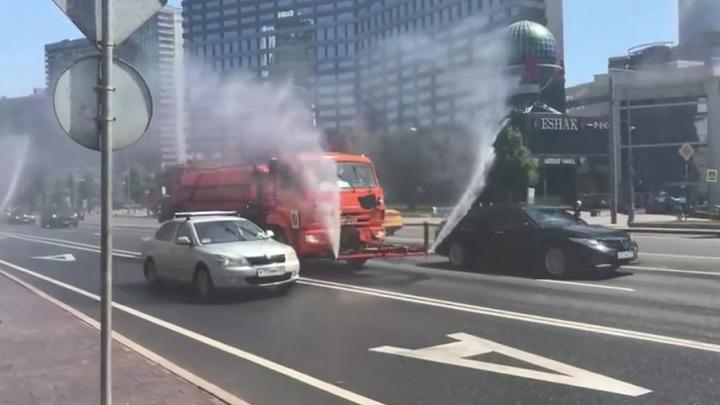 В Москве для охлаждения воздуха приступили к аэрации