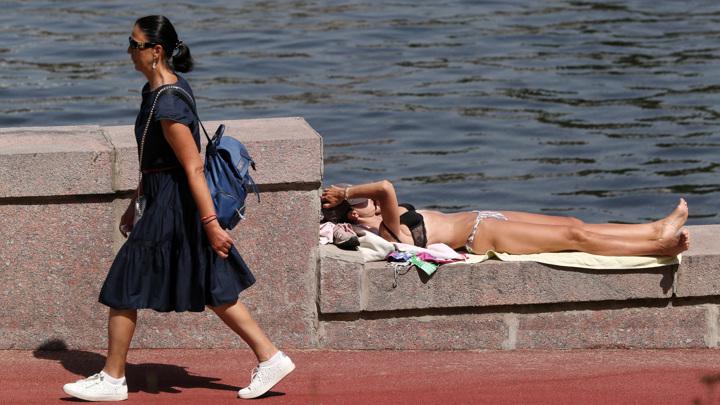 Москва побила рекорд жары 1917 года