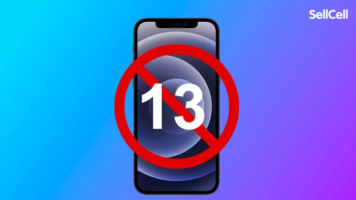 """Опрос: каждый пятый американец не захочет покупать """"суеверный"""" iPhone 13"""