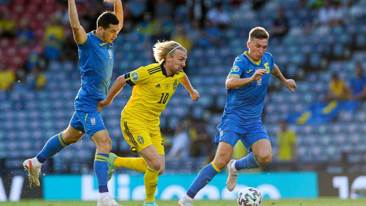Евро-2020. Швеция – Украина. Матч 1/8 финала