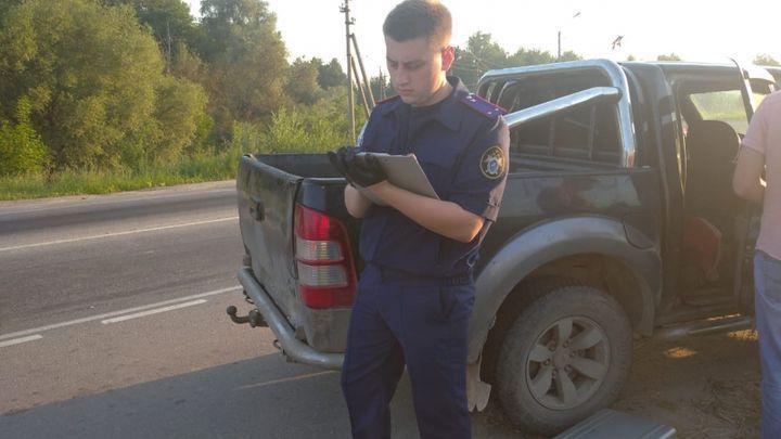 Сотрудники ДПС остановили машину с двумя трупами