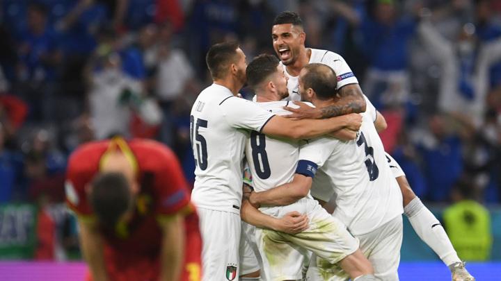 Евро-2020. Бельгия – Италия – 1:2. Матч 1/4 финала