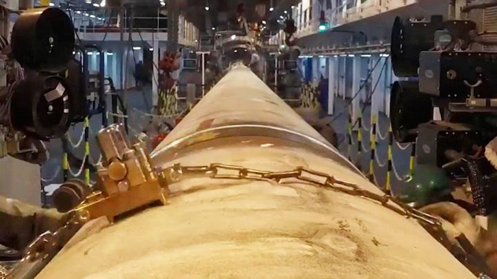 """""""Северный поток-2"""" планируют достроить через месяц"""