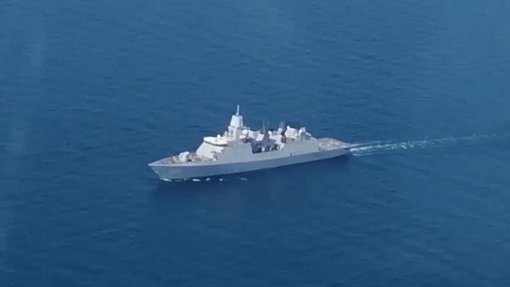 Российские самолеты поднимали в воздух из-за фрегата Нидерландов