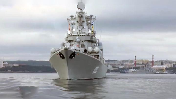Отряд кораблей и суда обеспечения СФ отправились в Балтийское море