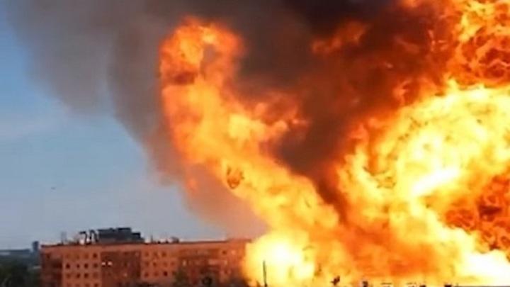 В Новосибирске ищут свидетелей нарушений на эпично взорвавшейся в июне газовой АЗС