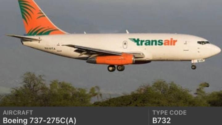 Пилоты 45-летнего Boeing 737, приводнившегося в Тихом океане, спасены