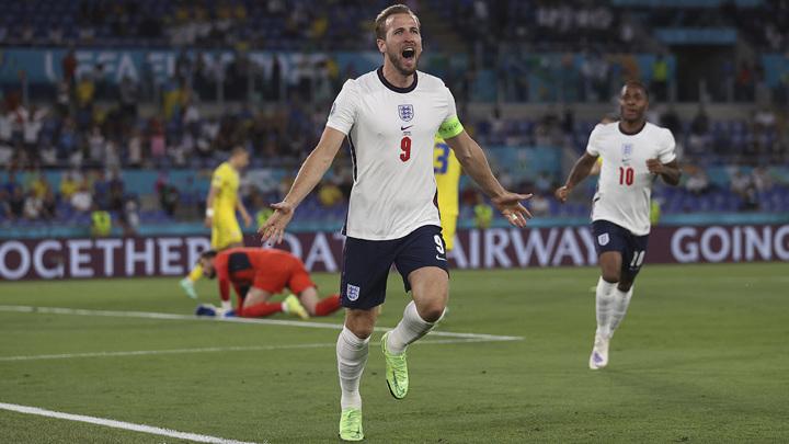 Англия разгромила Украину в четвертьфинале Евро-2020, у Кейна дубль