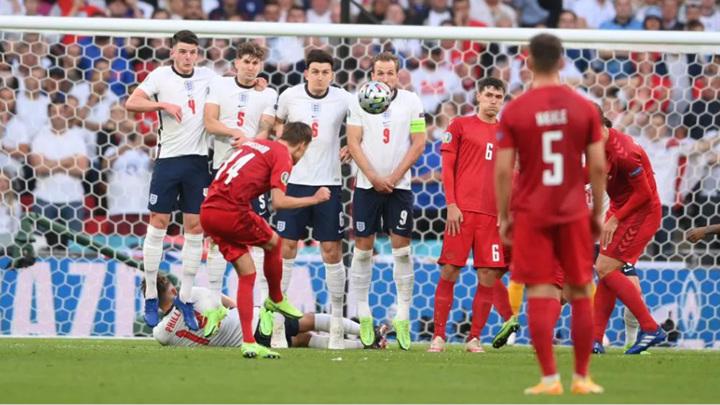 Англия – Дания – 1:1. Хозяева пропустили первый гол на Евро