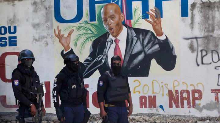 Полиция задержала предполагаемых убийц президента Гаити