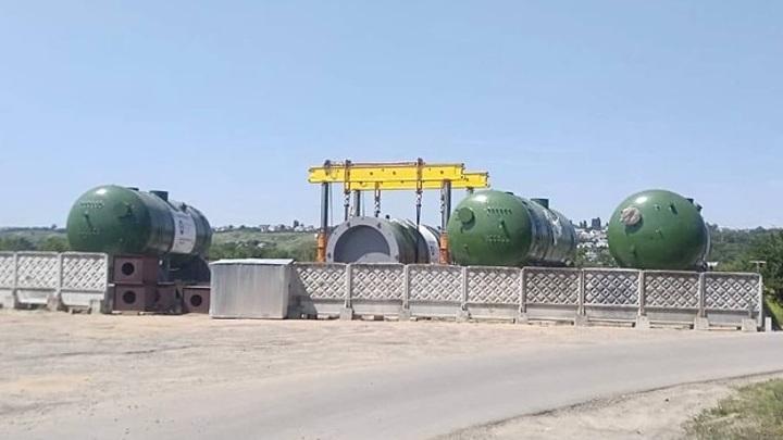 В Воронежской области застрял корпус атомного реактора для Курской АЭС