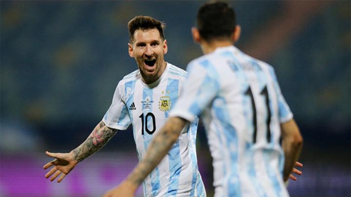 Трофей для Месси. Аргентина выиграла Кубок Америки