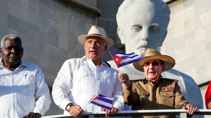 Лидер Кубы призвал коммунистов выходить на улицы