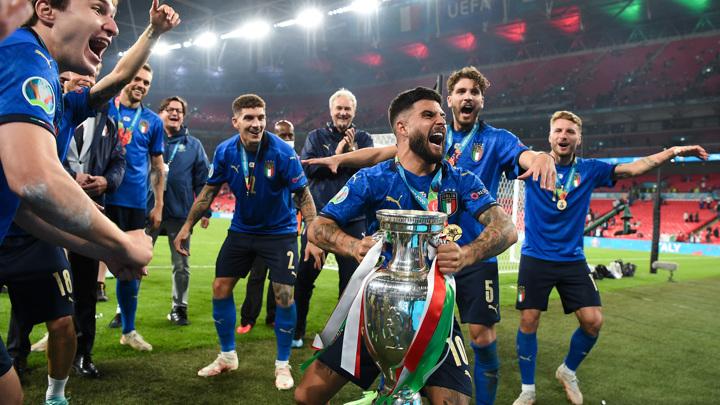 Сборная Италии выиграла чемпионат Европы по футболу