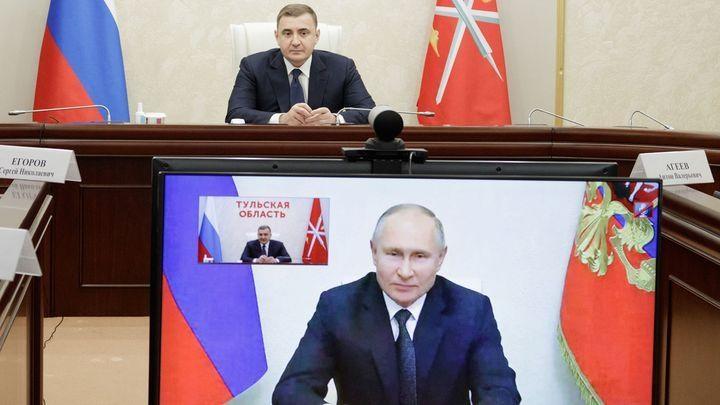 Путин выразил благодарность трем тульским учителям