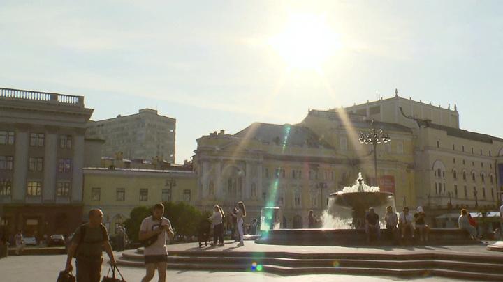 Рекорд тепла 85-летней давности побит в Москве