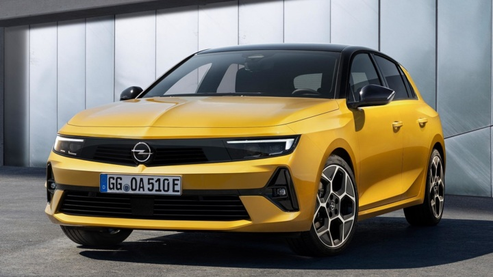 Opel представила хэтчбек Astra нового поколения
