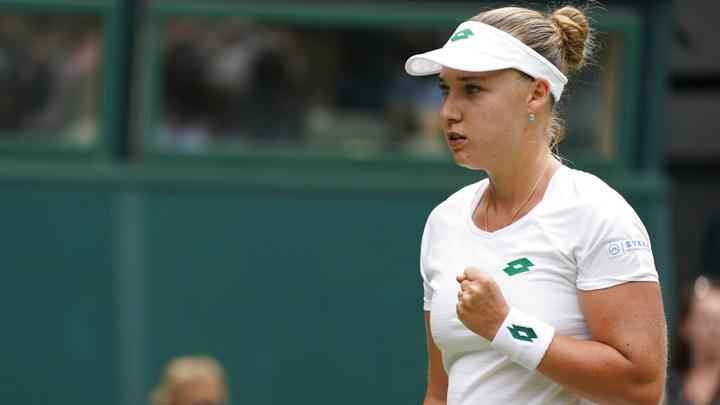 Блинкова стартовала с победы на турнире в Лозанне