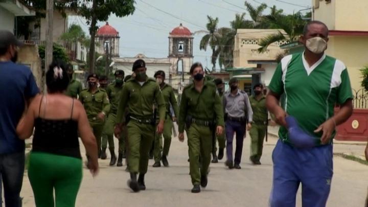 Один человек погиб в ходе беспорядков на Кубе