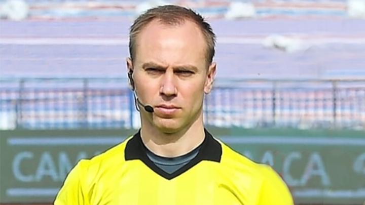 Российский арбитр Шимарыгин пожизненно отстранен от футбола