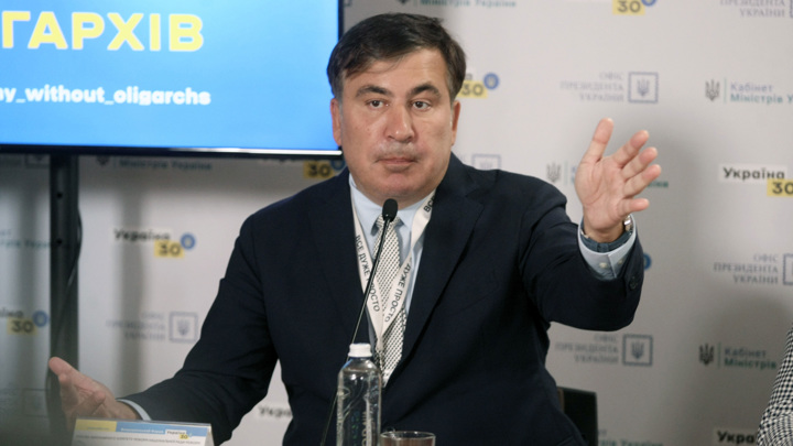 Саакашвили рассказал о плане американцев по захвату Донецка в 2014 году