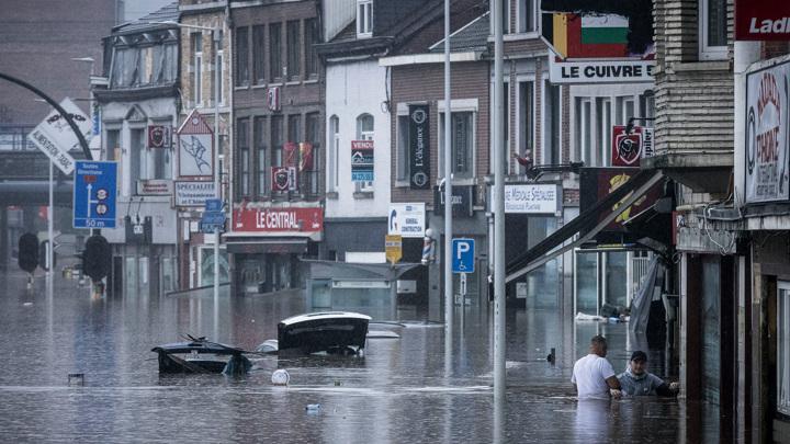 Бельгия снова уходит под воду