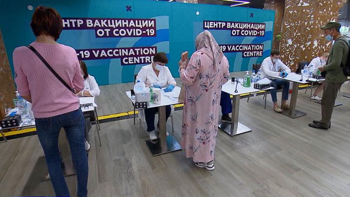 Темпы вакцинации в России выросли почти в два раза