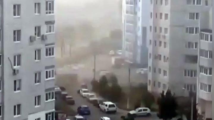 """""""Пылевая буря"""": жителям одного из районов Воронежа пришлось дышать грязью"""