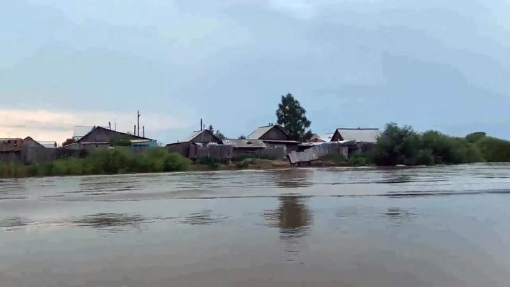 Уровень воды в Селенге на территории Улан-Удэ возобновил рост