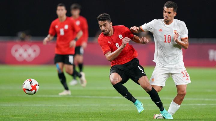 Испанский футболист Себальос получил жуткую травму во время матча на Олимпиаде
