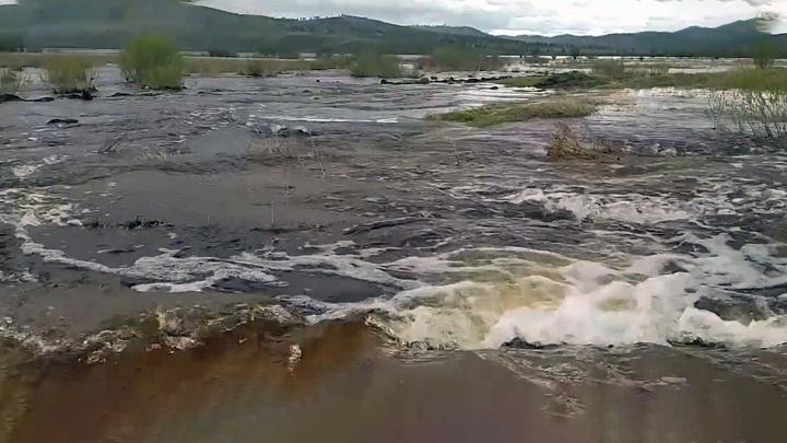 Забайкалье остается во власти водной стихии