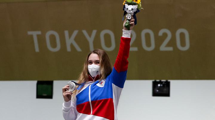 Галашина завоевала первую медаль для сборной России в Токио
