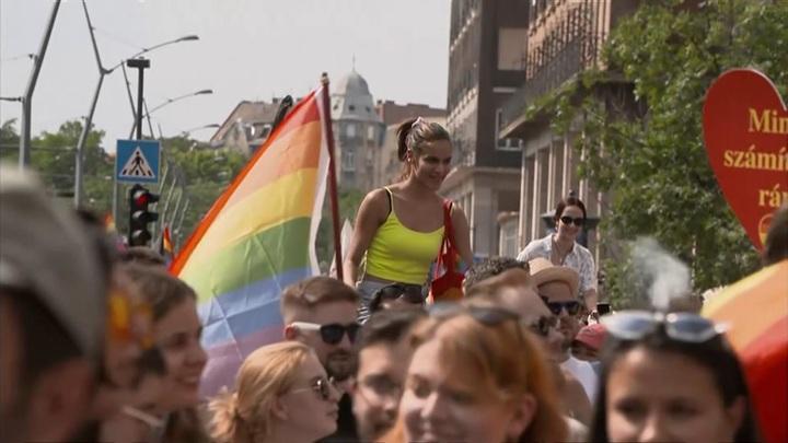 Спорное мероприятие: акция в защиту гей-парадов в Будапеште