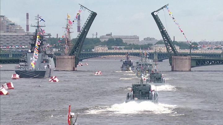 Главный военно-морской парад стал самым масштабным в истории