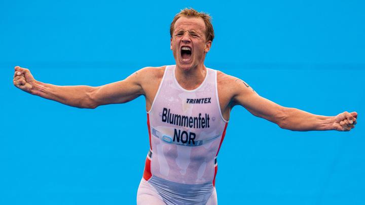 Норвежец Блюменфельд – олимпийский чемпион в триатлоне