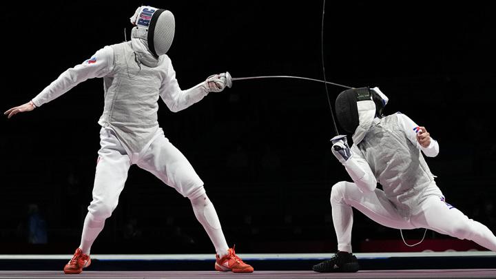 Рапиристы из России вышли в полуфинал Олимпиады