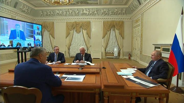 Путин предложил построить новую кольцевую дорогу вокруг Петербурга