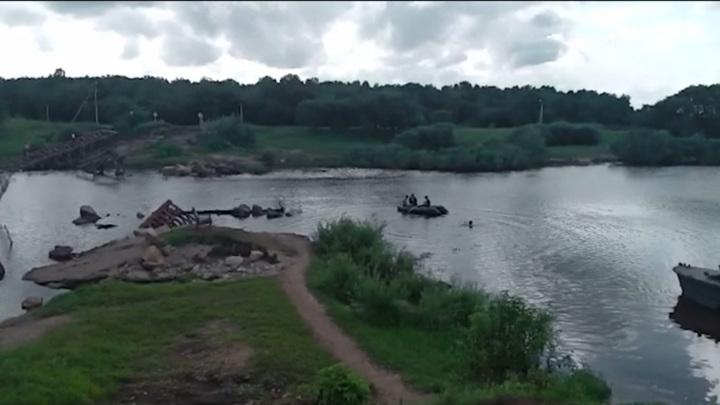 Амурупрадор назвал сроки восстановления понтонной переправы в селе Ушаково