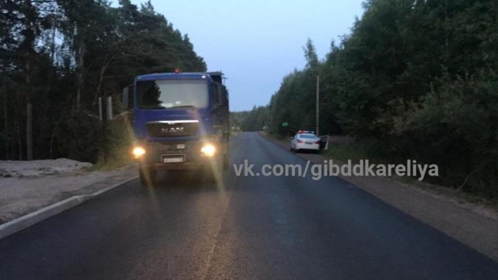 В Карелии под колесами грузовика погиб 7-летний ребенок