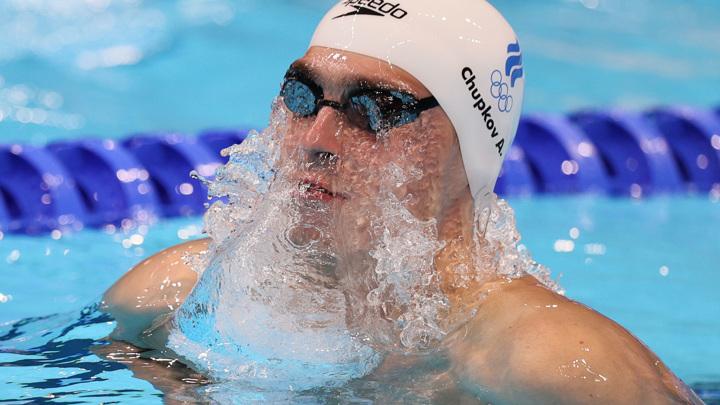Чупков остался без медалей в плавании на 200 м брассом