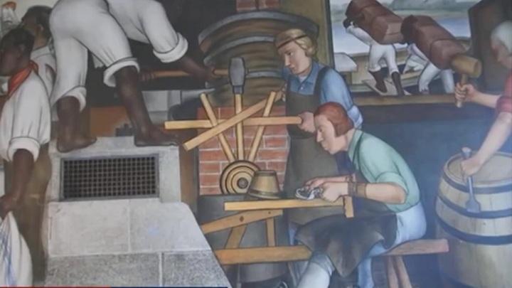 Фрески российского художника в Сан-Франциско снова откроют для публики