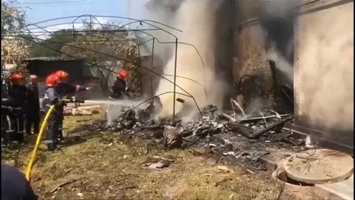 Авиакатастрофа на Украине: четыре человека погибли