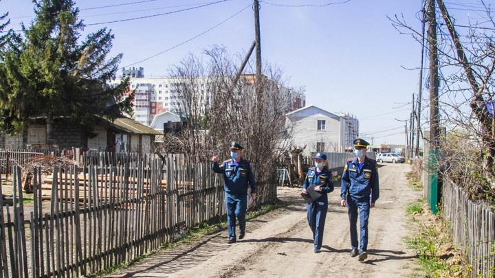 В Омске отменен режим повышенной пожароопасности