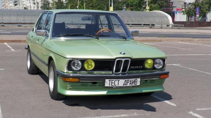 """Достойный ответ """"Мерседесу"""": тест-драйв """"Акулы"""" BMW 520 Е12"""
