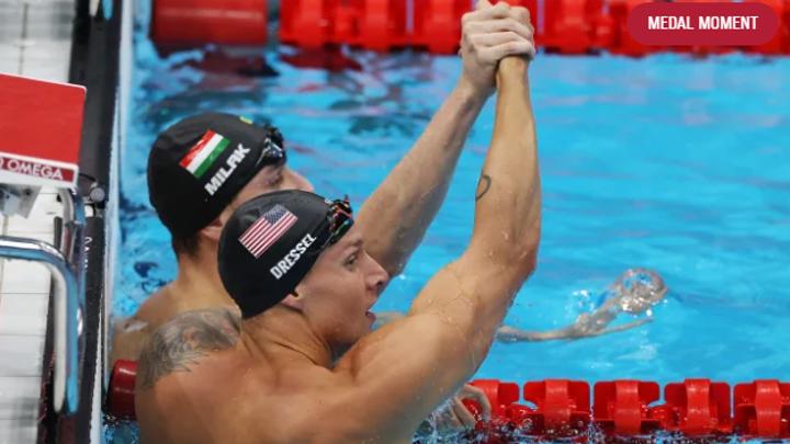 На Олимпиаде обновлен мировой рекорд на дистанции 100 м баттерфляем