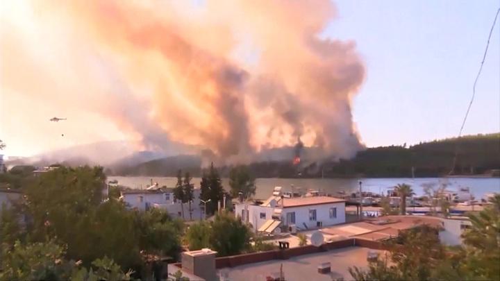 Иран готов оказать помощь пострадавшей от лесных пожаров Турции