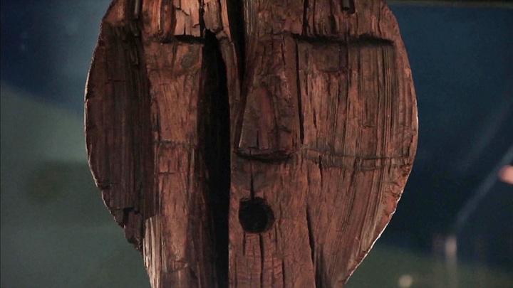 Самая древняя деревянная скульптура на Земле хранится в Свердловском музее