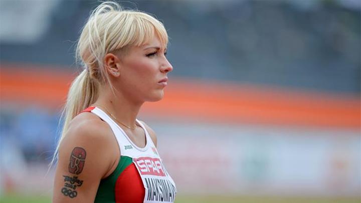 Легкоатлетка Максимова не хочет возвращаться в Белоруссию
